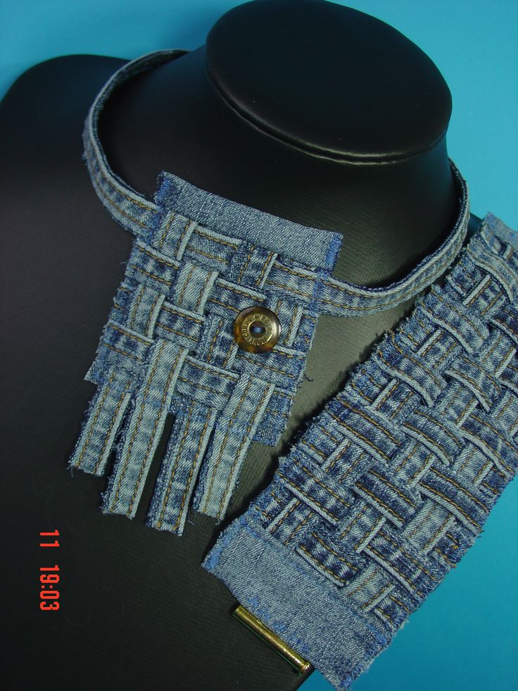 Náhrdelník Jeans