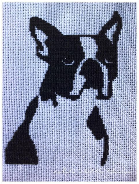 Nati's little things: I embroidered Rocco