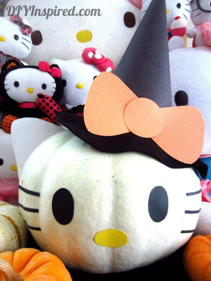 Hello Kitty Pumpkin (10)