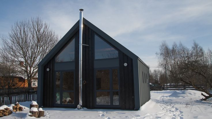 The DOM XS small house in Poland that costs just under $43,000. Find out more here: http://humble-homes.com/dom-xs-modern-small-house-poland-43000/
