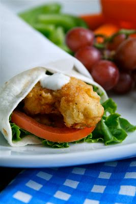 Lauren's Latest » Crispy Chicken & Ranch Wraps