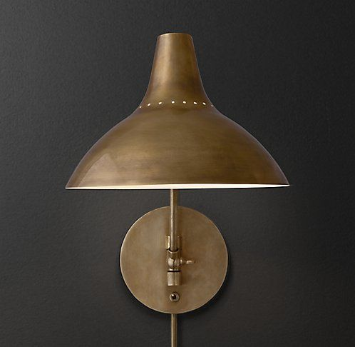 Rh Modern Wall Sconces : 769 best images about Lighting on Pinterest Wall lighting, Lighting design and Moroccan lanterns