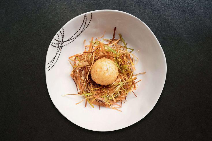 Nid de poireaux et son œuf mollet - Recette Jean Imbert - Carrefour.fr