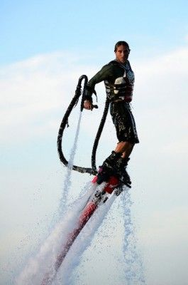 #Flyboard by #JetSkiTour in #StBarth