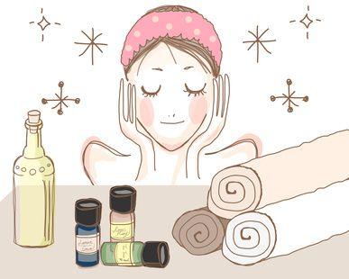 application huile vegetale visage