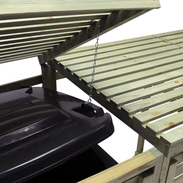 Garden Furniture 10 Year Guarantee best 25+ triple wheelie bin storage ideas on pinterest | trash can