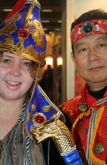 Me and South-Korea man.