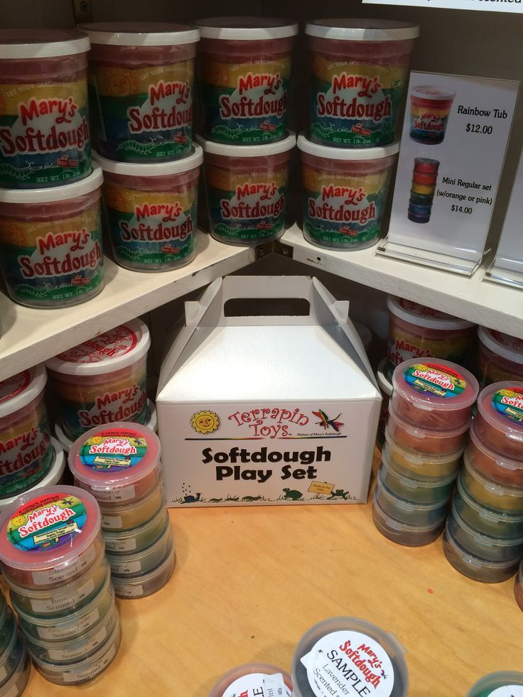 It's a classic for sparking kids' creativity, and made right here in Eugene. Mary's Softdough by Mary Newell