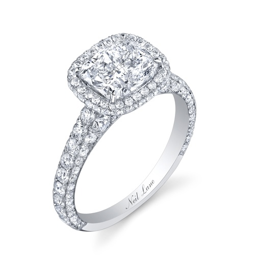 The Bachelorette's engagement ring.. NEIL LANE! Ah. : Wedding Ring, Wedding Ideas, Wedding Stuff, Diamond, Dream Wedding, Neil Lane, Future Wedding, Cushion Cut, Engagement Rings