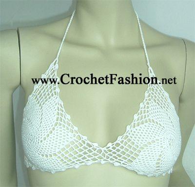 sexy crochet top                                                                                                                                                                                 Más