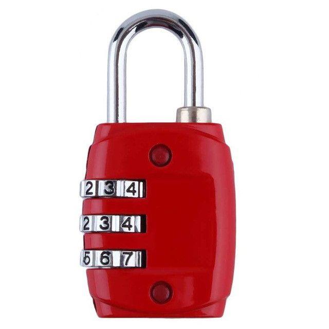 Zinc Alloy Security 3 Digit Dial Combination Code Number Lock Padlock Luggage Zipper Backpack Handbag Suitcase Drawer Padlock