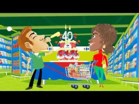 Video animation for Carrefour 40 by JairoDutra