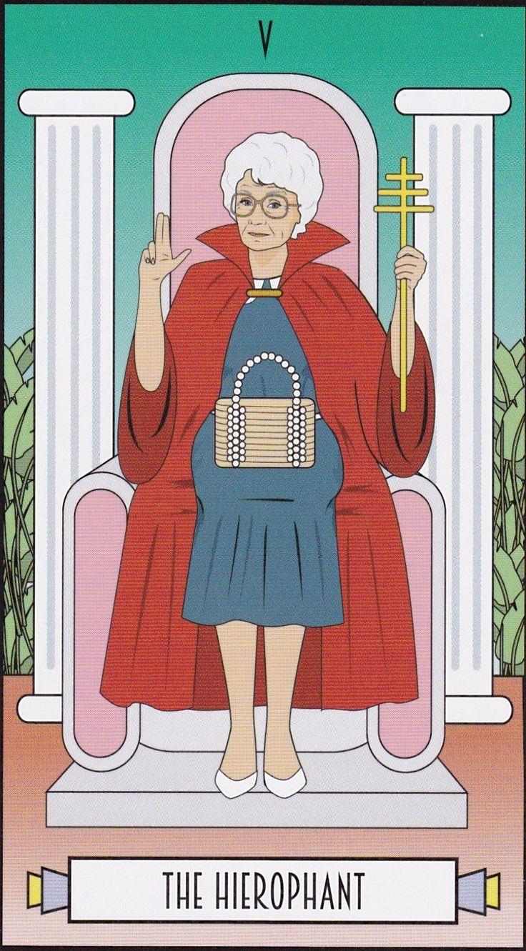The Golden Girls Tarot Cards in 2020 Tarot, Golden girls
