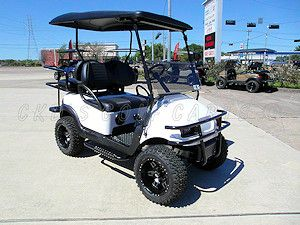 Gallery of custom electric golf carts for sale