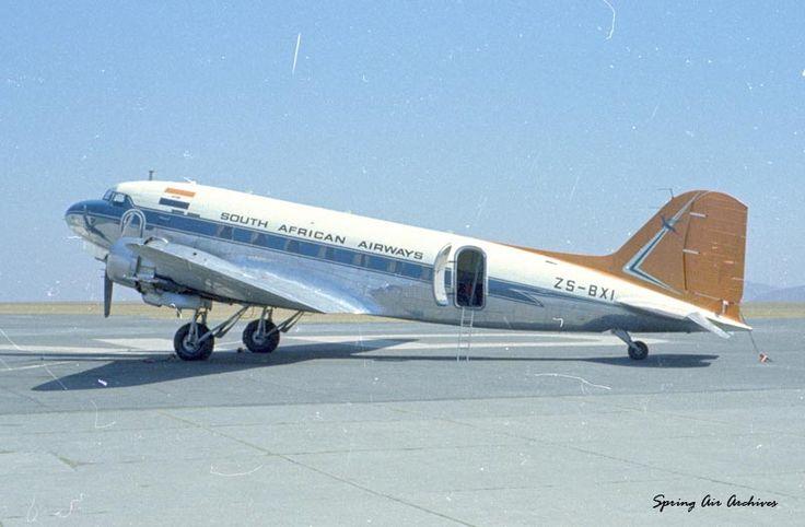 SAA Douglas DC-4 Skymaster ZS-AUB (Outeniqua)
