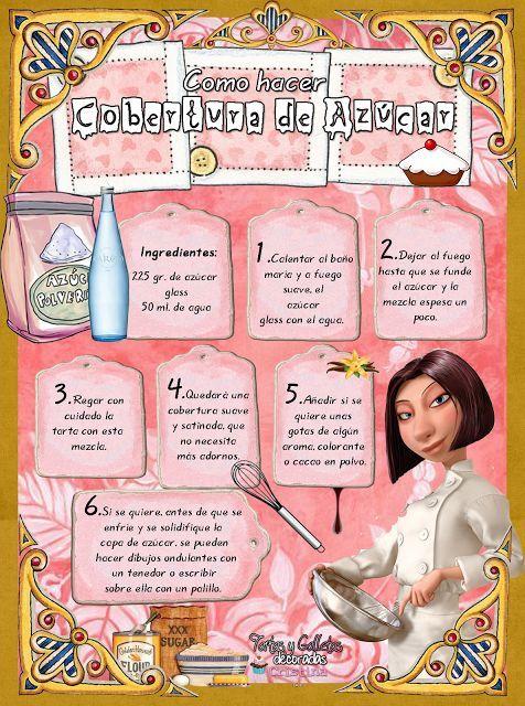 ^^ => Tartas, Galletas Decoradas y Cupcakes: Paso a Paso