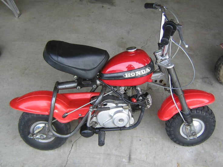 1970 Honda Qa50 Mini Bike Tar And Rubber Pinterest