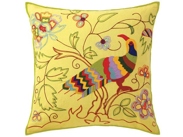 Pretty Bird Pillow: Toucan Pillows, Color Design, Decoration Pillows, Accent Pillows, Birds Pillows, Lighting Yellow, Furnishings Accessories, Throw Pillows, Color Trends