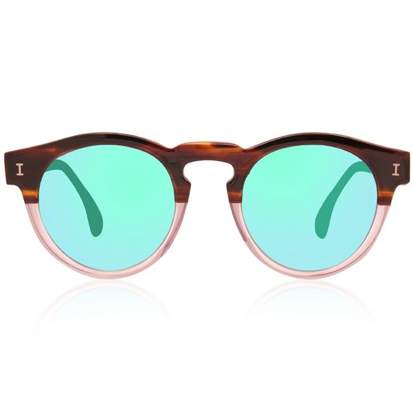 ILLESTEVA LEONARD HALF/HALF WITH GREEN MIRRORS   S/S 2014 Ready to Wear Men's Sunglasses   Male Extravaganza http://male-extravaganza.com/ss-2014-ready-to-wear-mens-sunglasses/