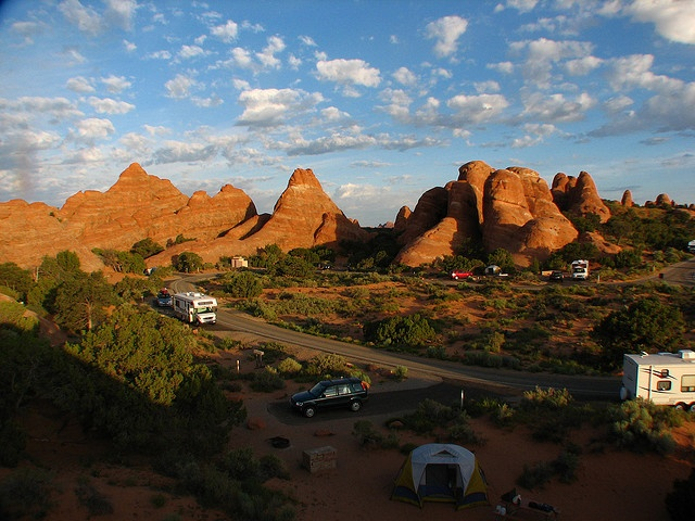 Devil's Garden Campground, Arches National Park, Moab, Arizona