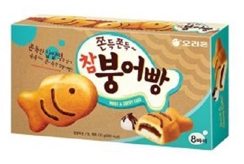 Orion Chambungeobbang Carp-Shaped Moist and Chewy Cake Snack Fish cake #Orion