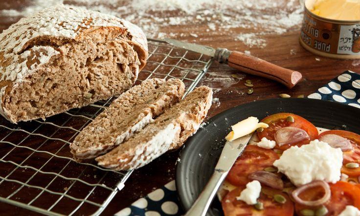 100% Pšeničný kváskový chléb | KITCHENETTE