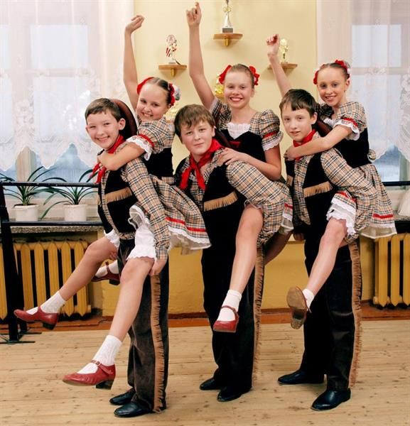 Танцевальный ковбойский костюм для девочек