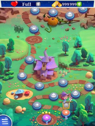 Astuces Bubble Witch Saga Facebook Triche Code de Tricherie pour iOS – Android ou PC