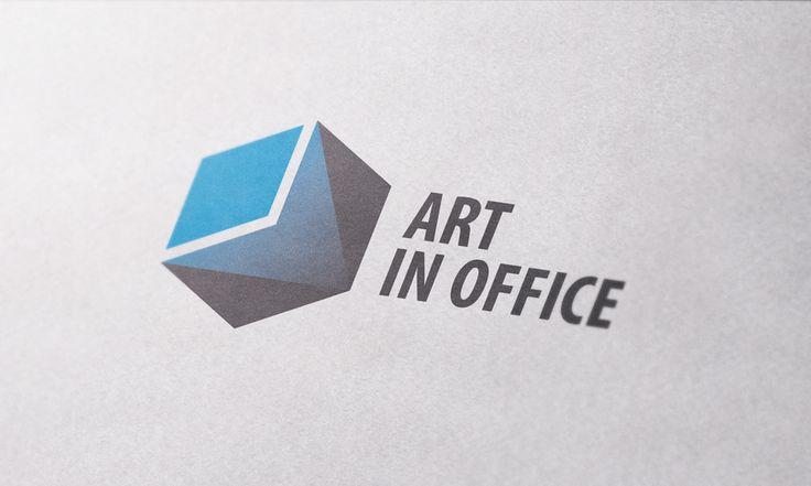 ART IN OFFICE / Projekt logo dla sprzedawcy mebli biurowych z Warszawy.