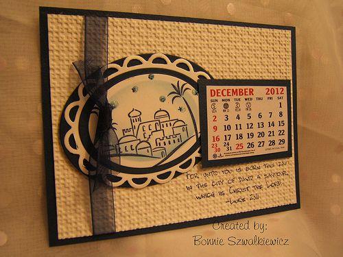 2012-12-01 December Calendar Page – Bonnie x2 « The Craftiblog