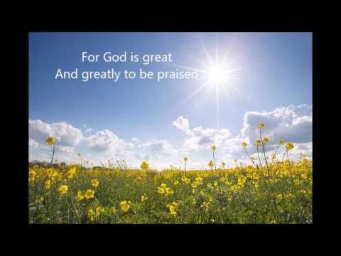 """My Strength: Psalm 96:1-3 - """"Sing Unto the Lord"""""""
