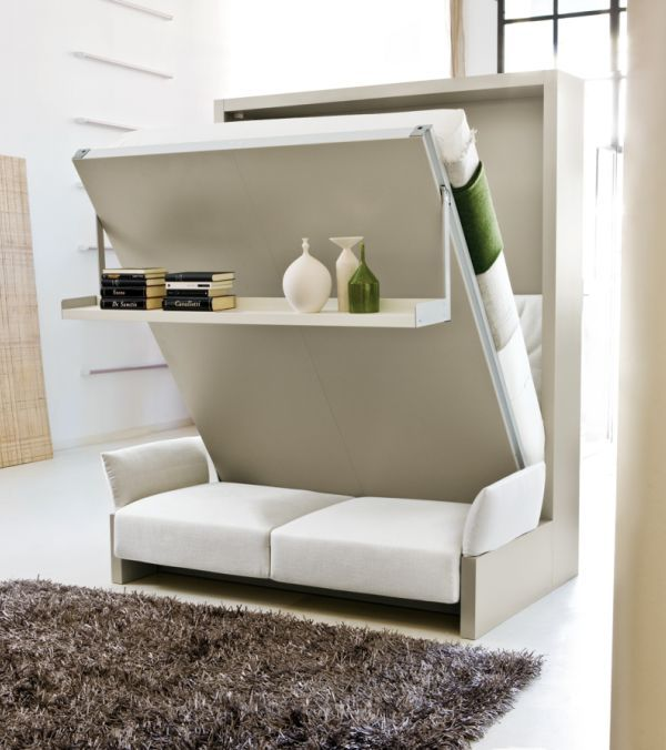 Space Saver Ideas For Small Homes Part - 43: 10 Space Saving High-Tech Furniture For Small Homes