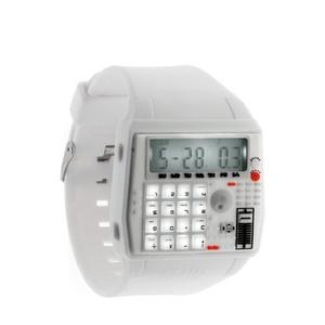 BPM Watch White now featured on Fab.: Bpm Watches, Watches White, Cool Watches, White W Calculator, Calculator Watches, Menswear Inspiration Watches, Accessories, Flud Watches, Menswearinspir Watches