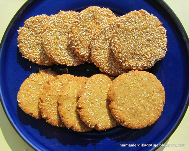 Ciasteczka amarantusowe
