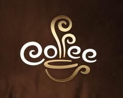 typographic logo, you can almost smell the coffee!  TB: Coff Logos, Coff Design, Logo Design, Coff Art, Coffee, Coff Signs, Logos Design, Cups Of Coff, Coff Cups