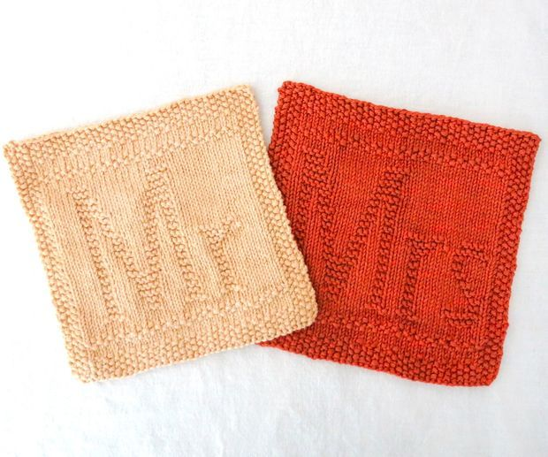 Knitted Dishcloth Pattern With Letters : 121 best images about Dishcloth patterns - Letters ...