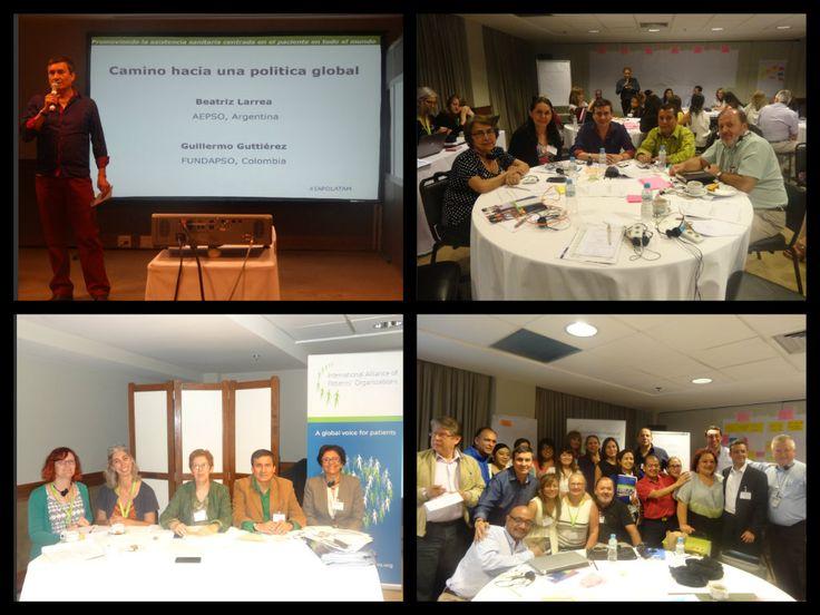 Participación de FUNDAPSO en el TALLER LATINOAMERICANO DE IAPO en Río de Janeiro. Mejor acceso, mejor salud: Enfoque de cobertura universal en salud centrado en el paciente en América latina.