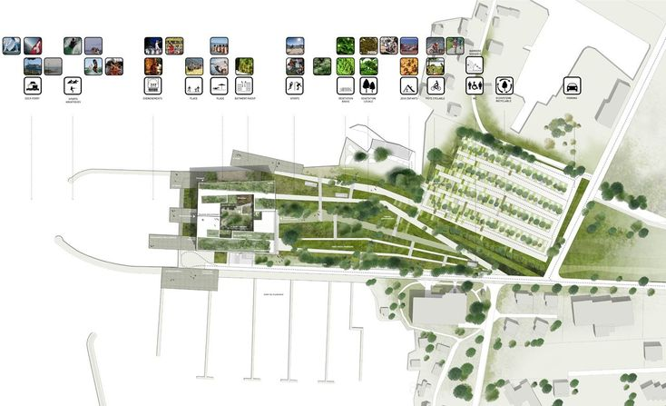 Image 8 of 14 from gallery of 'Stavia 2012′ Hotel Proposal / Marciano Architecture. site plan