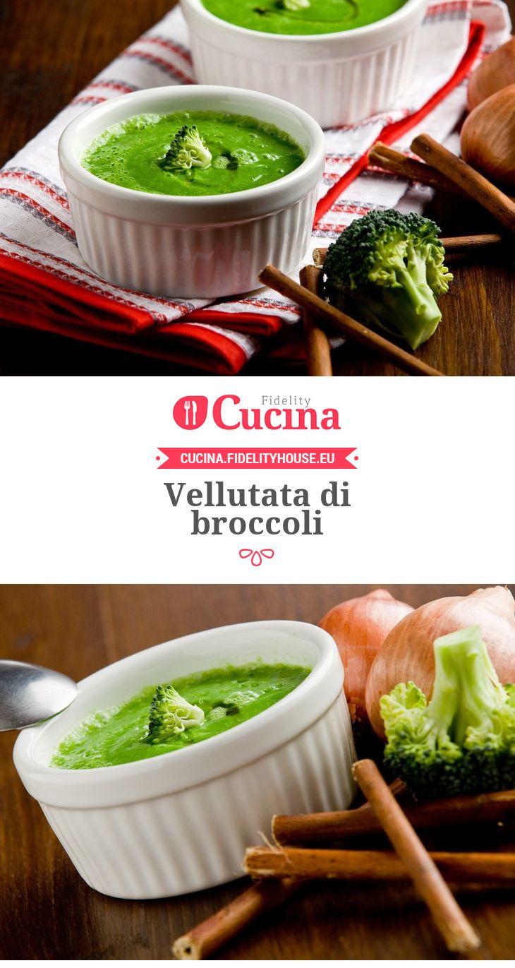 Vellutata di broccoli