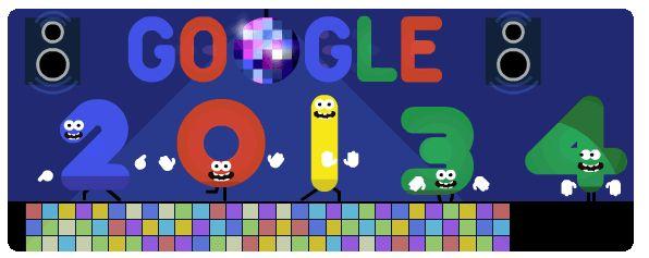 Google New Year 2014