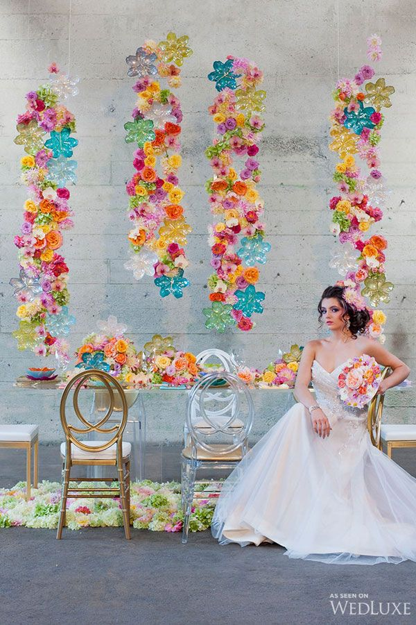 WedLuxe– Fiori di Vetro | Photography by: Jasalyn Thorne Photographers Follow @WedLuxe for more wedding inspiration!