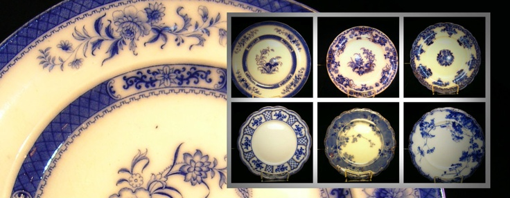 Early and late rare 10 inch plates