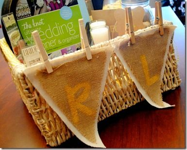 Gift Basket for Engagement