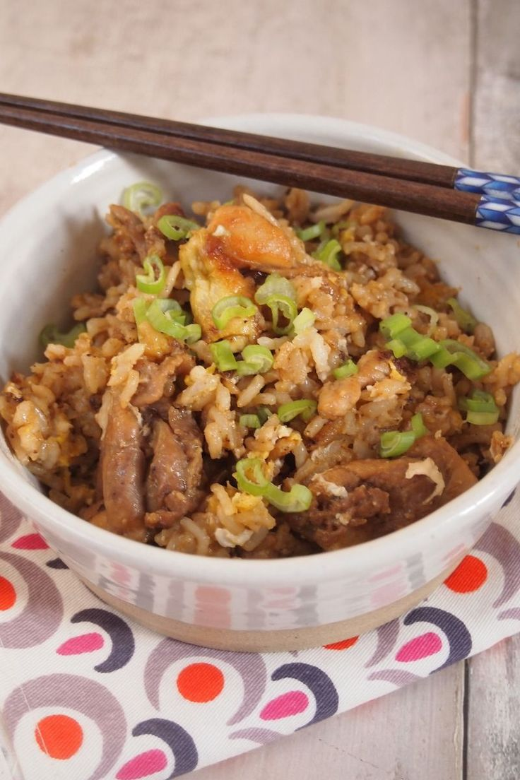 Khao Pad Kaï, riz sauté thaïlandais, poulet, trop facile