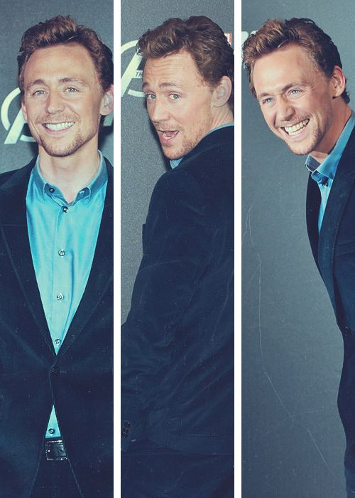 Someone needs to tell him that grown men aren't supposed to be so adorable.