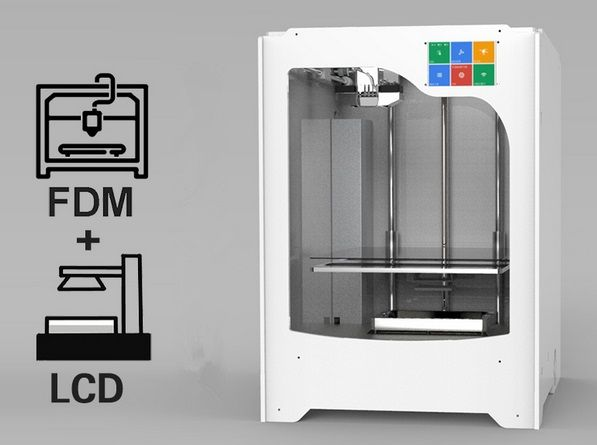 2017 NO#1  Muti-function  LCD & FDM  printer  for dentist and Jewelry   DLP /SLA printer //Price: $0.00//     #onlineshop