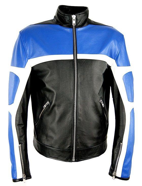 Kurtka skórzana stylizowana na odzież motocyklową. Dostępna w różnych wariacjach kolorystycznych. Zapraszamy na www.ramoneska.pl :)