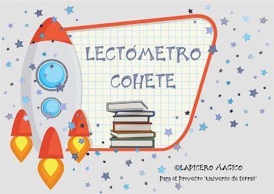 LAPICERO MÁGICO: Lectómetro cohete