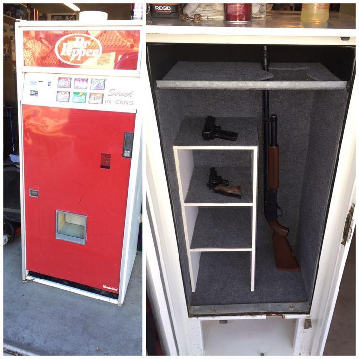 Man Cave With Gun Safe : Hidden gun safe man cave pinterest