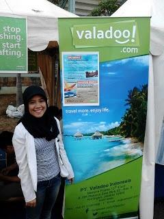 dita-kinako's blog post, mentioning Valadoo's presence on Social Media Festival.
